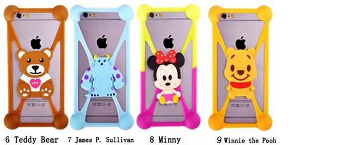 Universal Cell Phone Cartoon Silicone Case For iPhone 6 6s plus SE DEXP Ixion ES5 ES25 ML150 M LTE ES145 EL150 ES2 M350 M150