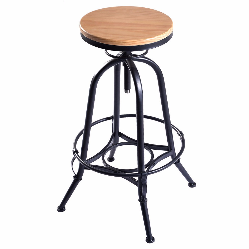 Popular industrial vintage furniture buy cheap industrial - Tabouret bar style industriel ...