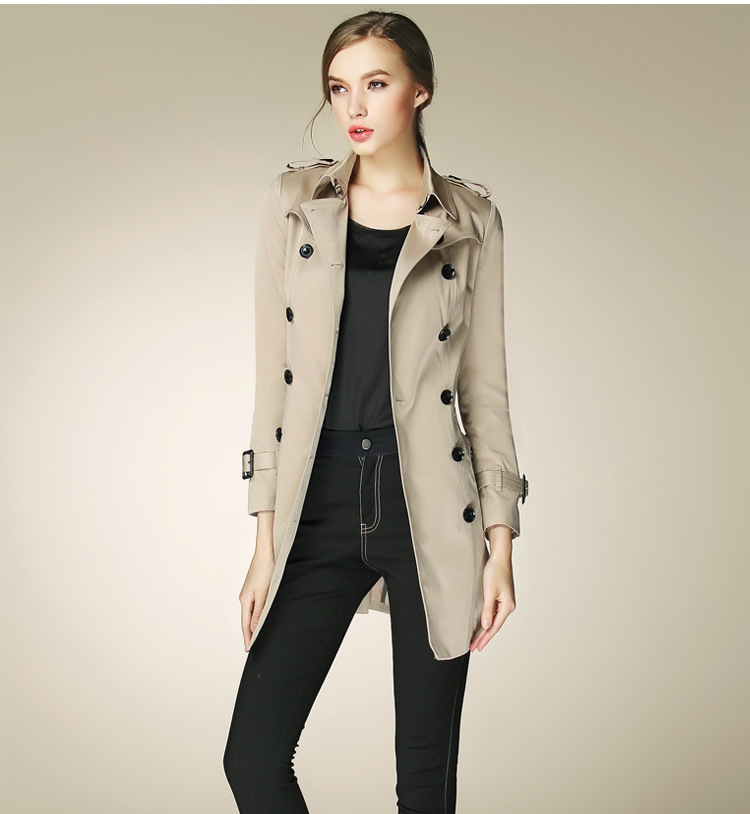 Cotton Pea Coat Womens | Down Coat