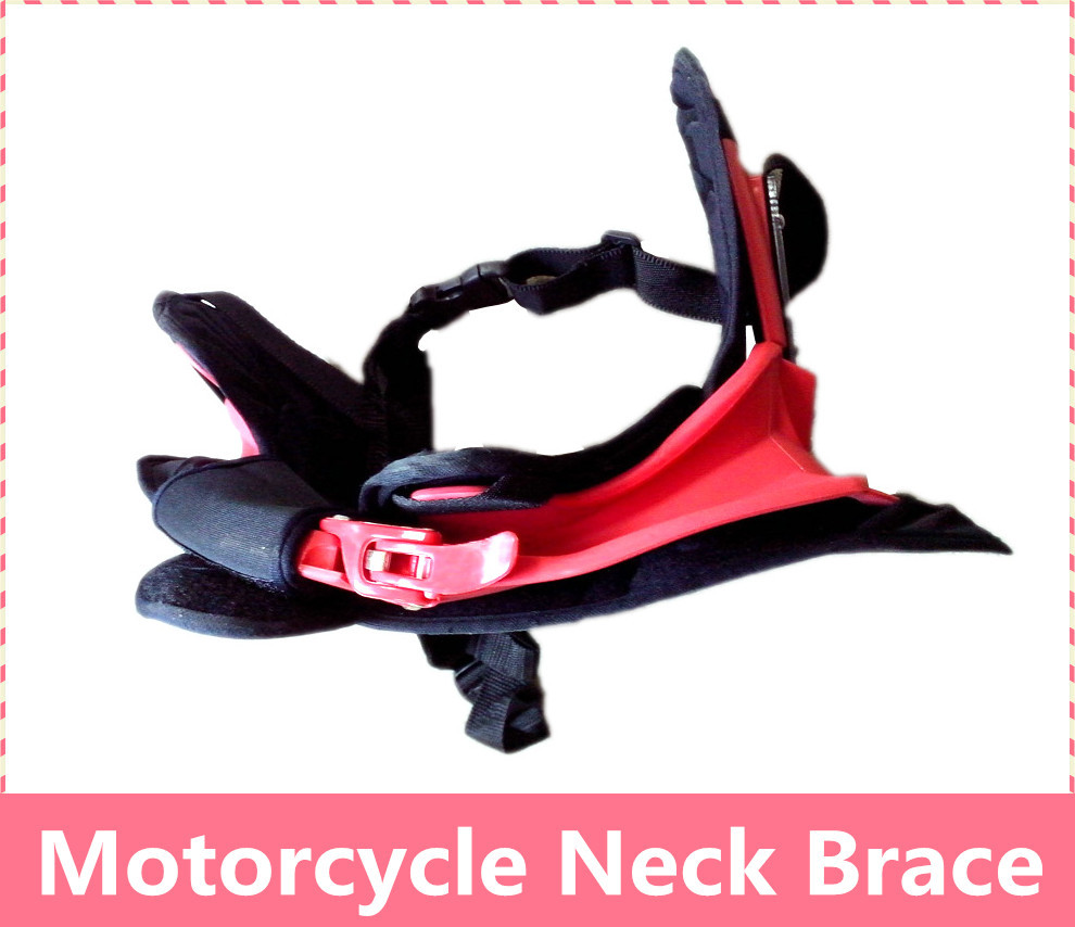 Motorcycle Neck Brace suspenders light weight full protector S M L XL size Brace Neck guard together come to you can be adjsuted