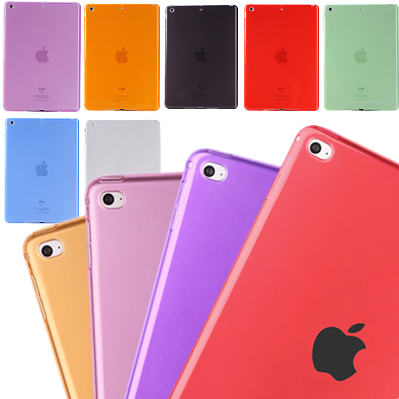 High Quality Transparent Soft Tpu Silicon Tablet Case For iPad 2/3/4 9.7 inch Shockproof Back Cover Case On Hot Sale(China (Mainland))