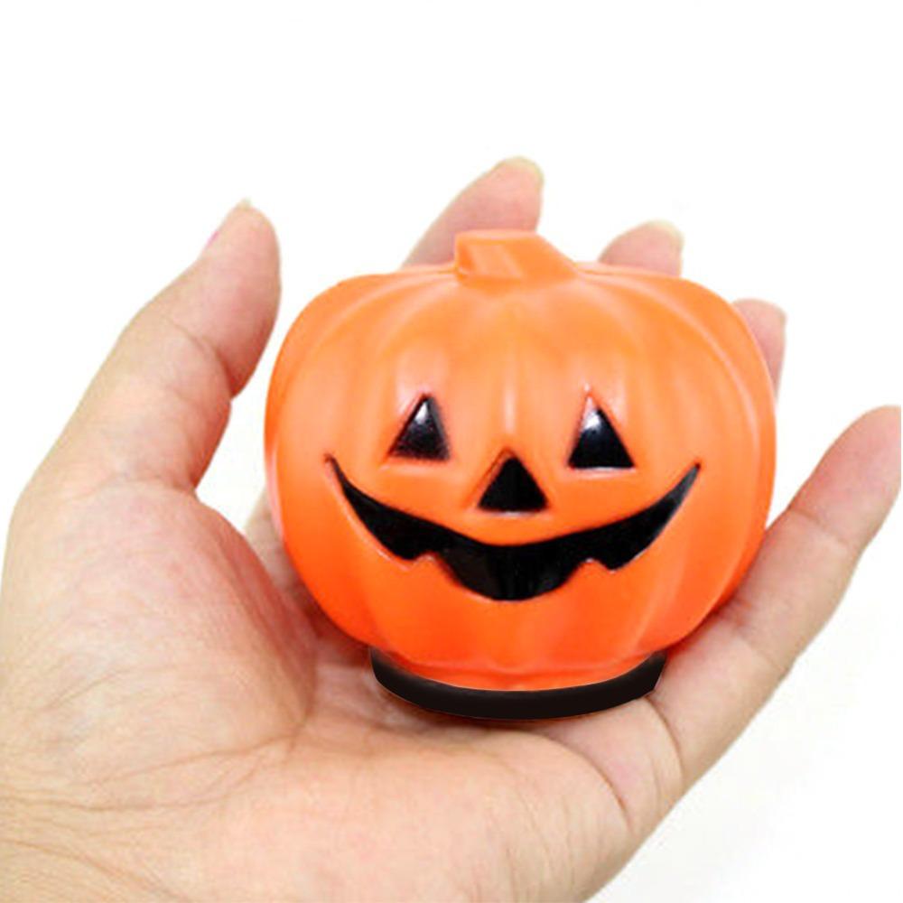 Automatic night lights decorative -  1 Pcs Halloween Carnival Party Jack O Lantern Led Pumpkin Night Light Decoration Props