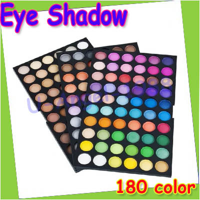 Gift idea 180 Colors professional Makeup Neutral shine Eye Shadow powder Palette+free shipping(China (Mainland))