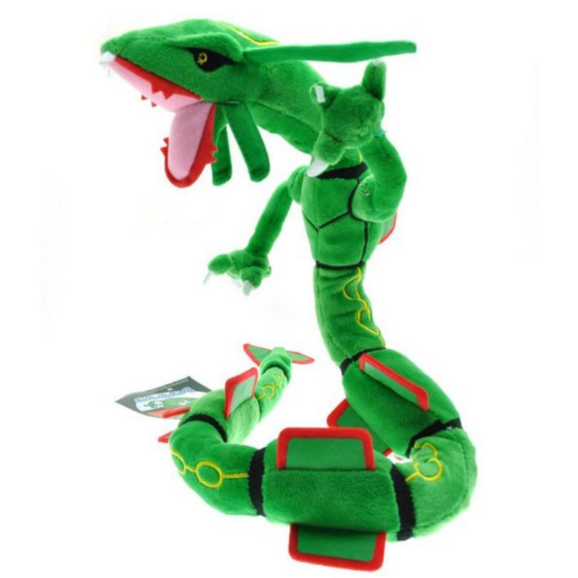 83cm pokemon center xy plush toy green rayquaza dragon plush toys doll soft stuffed animals toys. Black Bedroom Furniture Sets. Home Design Ideas