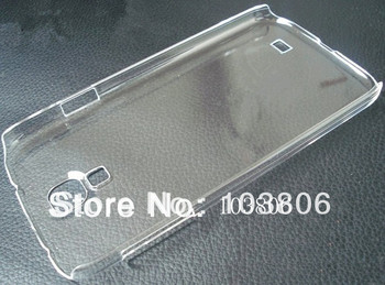 PC Transparent Clear Crystal Hard Back Cover Case For Samsung Galaxy i9500 S4