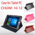 Business Style Utra Thin Flip Leather Cover Case for Chuwi Hi12 12 inch Tablet PC Folding