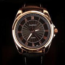 2016 YAZOLE Brand LuxuryMens Watches Famous Quartz Watch Men Wristwatches Male Clock Wrist Watch Quartz watch