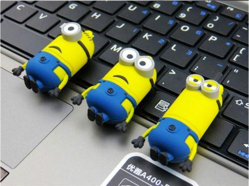 2015 new Despicable Me 2 Pendrives USB Flash Drive Pen drive Drives 16GB 8GB USB 2.0 Flash drives Memory Stick(China (Mainland))