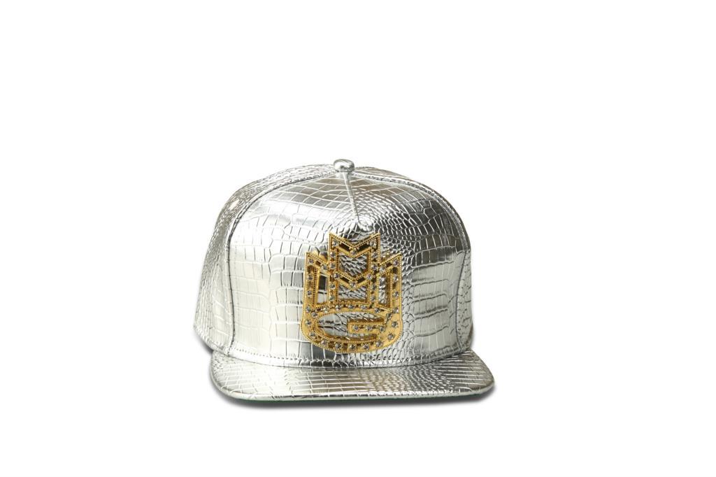 New Sparkling Hiphop Leather Cap Pu Snap Back Gorras Baseball Caps Casual Adjustable Diamond inlay M Hat(China (Mainland))