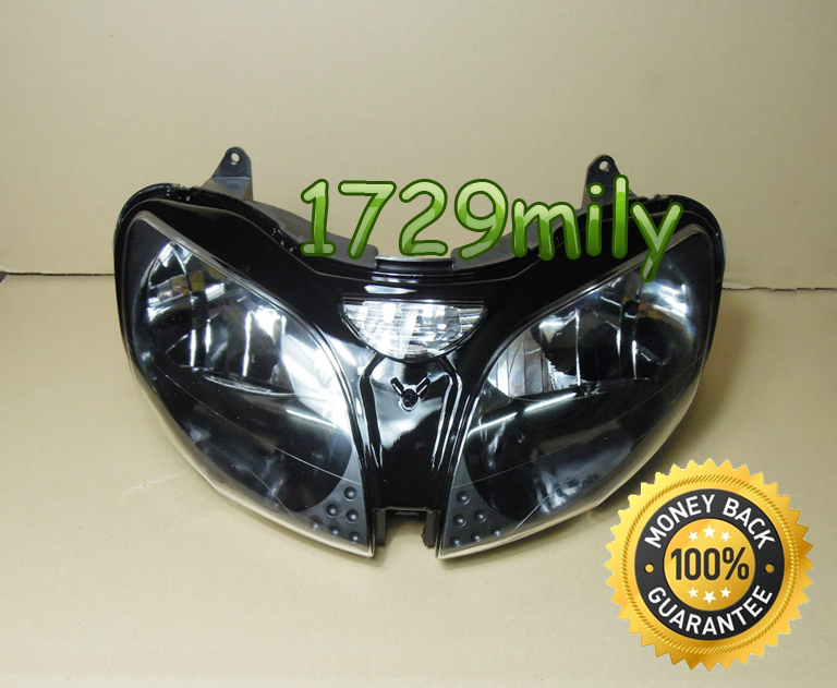 For KAWASAKI 2000 2002 ZX6R 2000 2003 ZX9R 2005 2008 ZZR600 Front Head Light House Assembly