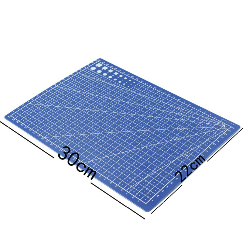 a4 grid lines self healing cutting mat craft card fabric