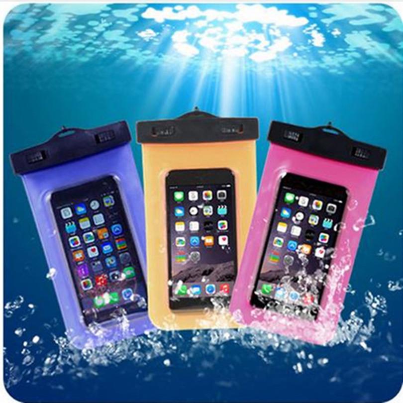 Universal Phone Waterproof Bag Carcasas Coque Capa De Capinhas A Prova Dagua Para Celular For iphone 4 5S 5C 6 Plus For Meizu(China (Mainland))