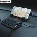 Remax Mobile Holder Car Dashboard Adjustable Bracket Magnet Connector with Charging USB Cable for iphone Samsung