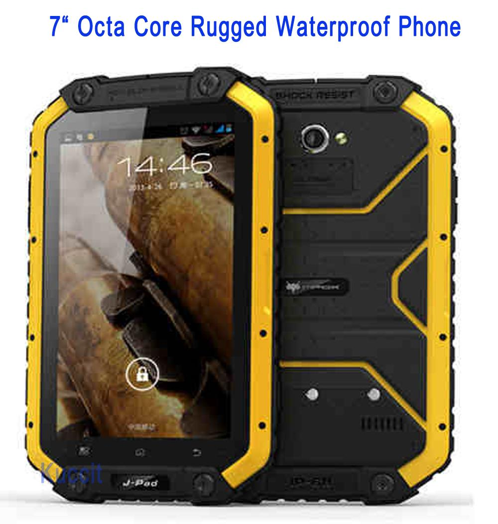 "Original MTK6752 Octa Core 7"" PDA IP68 Rugged tablet PC waterproof phone unlocked cell phones Android 5.1 2GB RAM 13.0MP Camera(China (Mainland))"