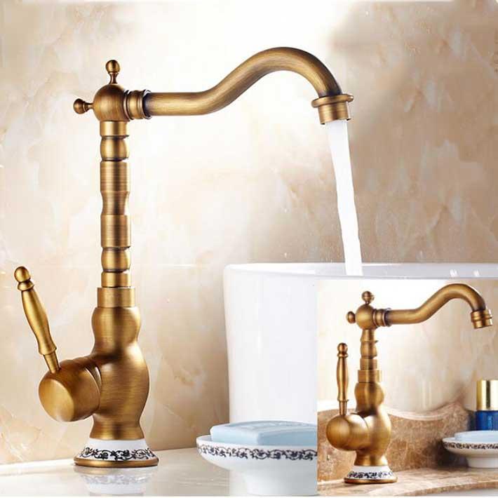 Vintage sink faucets