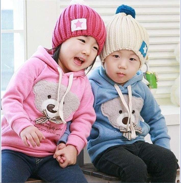 Freeshipping!!2013 Hot sell children coat Cartoon boy girl hoodie 2 colors kid's jacket Wholesale and Retail CS002(China (Mainland))
