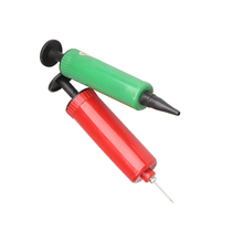 Mini Colors Plastic Hand Inflator Air Pump For Balloons Inflatable Air Pillow NVP