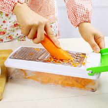 Hd pelado y rallado cortadora de hortalizas multiusos procesador cocina aparatos utensilios de cocina 378 g