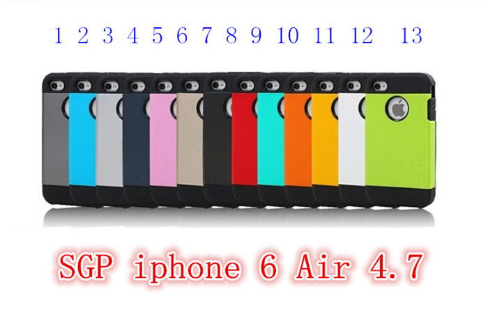 """armor case for iphone 6 SLIM Tough ARMOR SPIGEN SGP Super Protect Shield case for iPhone 6 ari 4.7"""" .Free shipping # 2(China (Mainland))"""