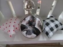 Marvel Super Heros Spiderman Necklace Pocket Watch Child Boy Watch Fashion 1pcs
