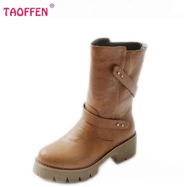 Размер 32-46 женщины высокий каблук над коленом сапоги мода зима теплый снег ridind ...