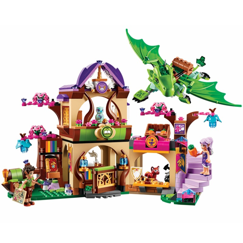 Elves Secret Place parenting activity education model building blocks girls and compatible lepin Children's Early Toy Kids Gift(China (Mainland))