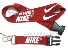 FREE SHIPPING  dark red  key Lanyards Sport  logo mobile neck straps(China (Mainland))