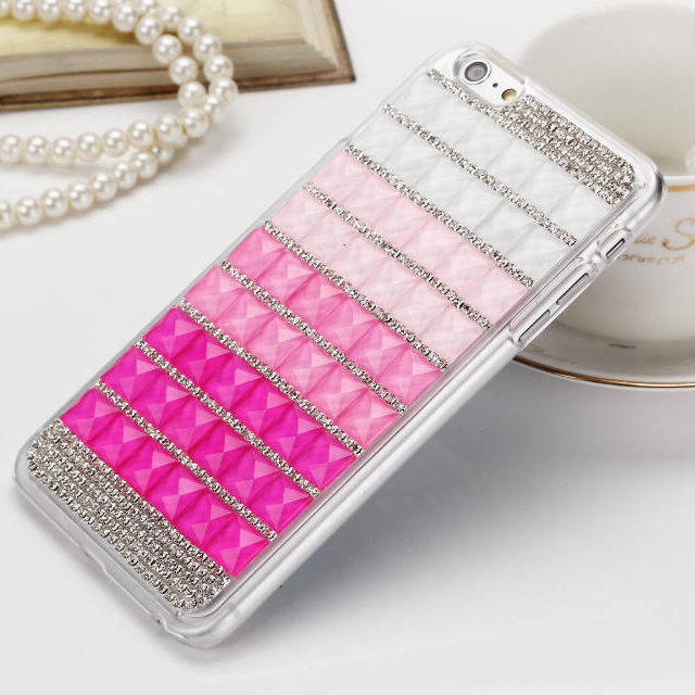 Fashion DIY Luxury Rhinestone Glitter Bling Case Diamond Cover for iPhone 6 Plus / 6S Plus(China (Mainland))
