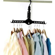2016 Multifunction Hanger Rack Clothes 20pcs Space Saver Foldaway Folding Magic Hangers for Clothes Outdoor Closet Organizer(China (Mainland))