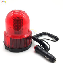 Красный желтый синий светодио дный цвет светодиодный автомобиль Магнитный установленный полицейский стробоскоп вращающийся мигающий Пре...(China)