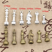 Buy 99Cents Charms chess Hollow Antique charms,Zinc alloy pendant fit,Vintage Tibetan Silver Bronze,DIY bracelet necklace for $1.00 in AliExpress store