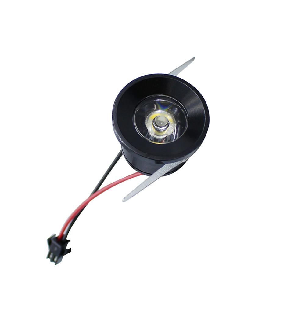 High quality 1pcs/lot Mini led cabinet light 1W mini led downlight AC85-265V led lamp light include led driver free shipping(China (Mainland))