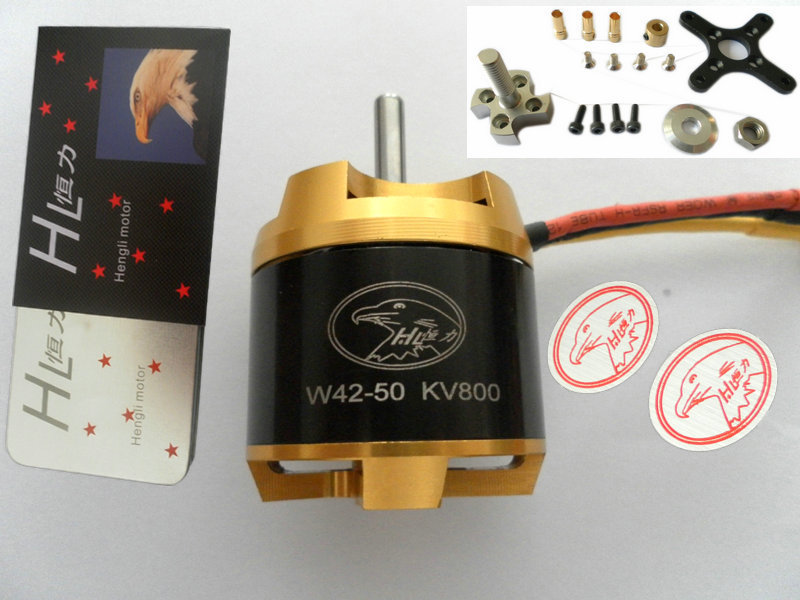 Constant external rotor motor brushless motor motor W4250 model aircraft motors can be customized with KV balancing(China (Mainland))