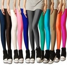Fashion Sexy Solid Candy legging Plus Large Size Women's Leggings super stretched sports fitness ballet dancing pants leggins(China (Mainland))