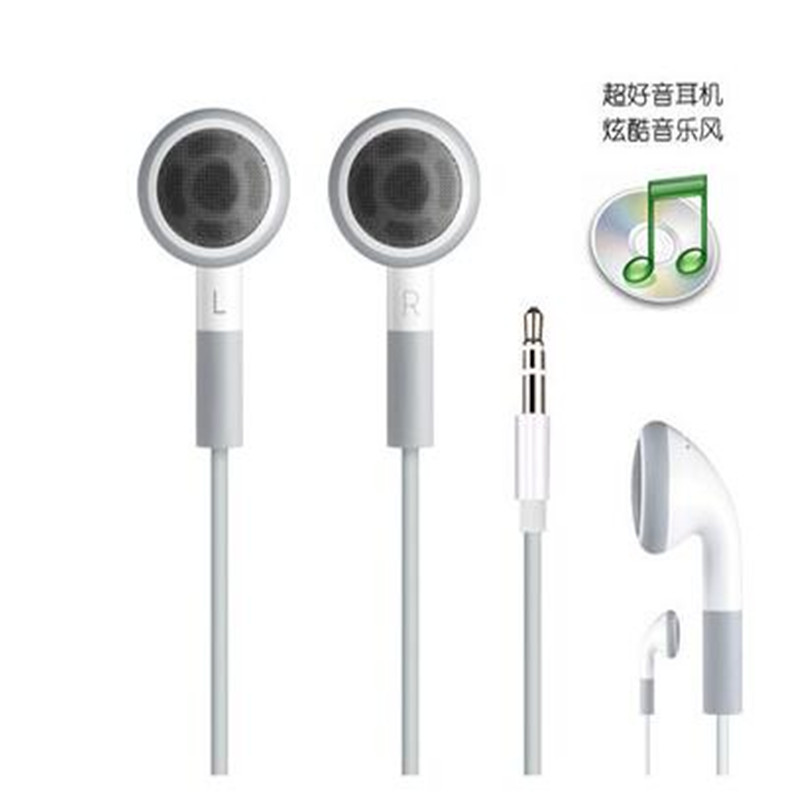 Stereo Headphone Headset With Mic for iPhone 4S 4 3GS 3G i Pod Touch etc(China (Mainland))