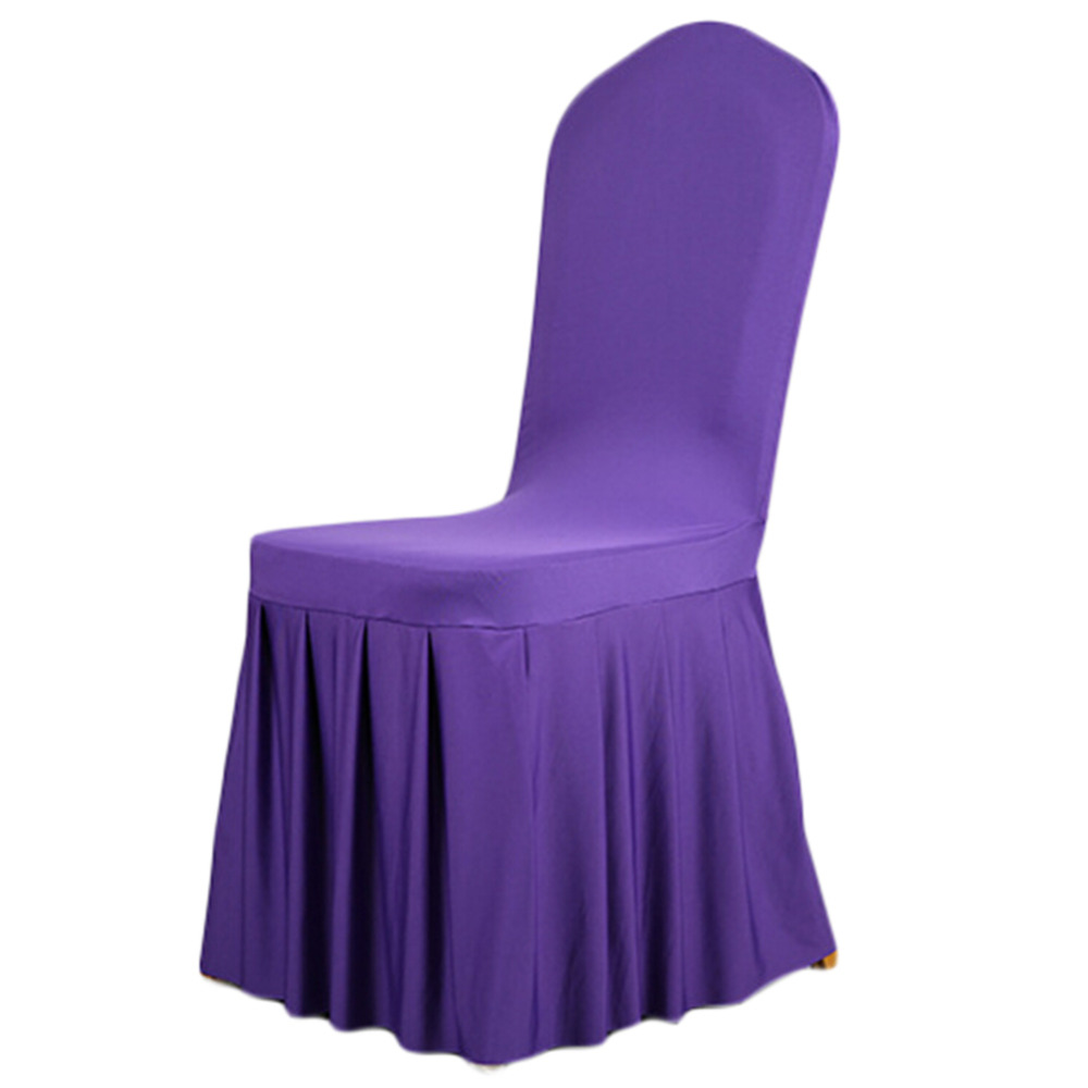 spandex stretch dining chair cover restaurant hotel chair coverings