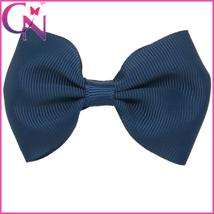 """Free Shipping 3"""" Baby Small Hair Bow 12 Colors Grosgrain Ribbon Hair Bows With Clip Hairbow For Toddler Girls Hair Accessories(China (Mainland))"""