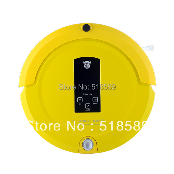 (Ship from USA or RU) Robot Vacume cleaner (Sweep,Vacuum,Mop,Sterilize)LCD Touch Screen,Schedule,Auto Charge(China (Mainland))