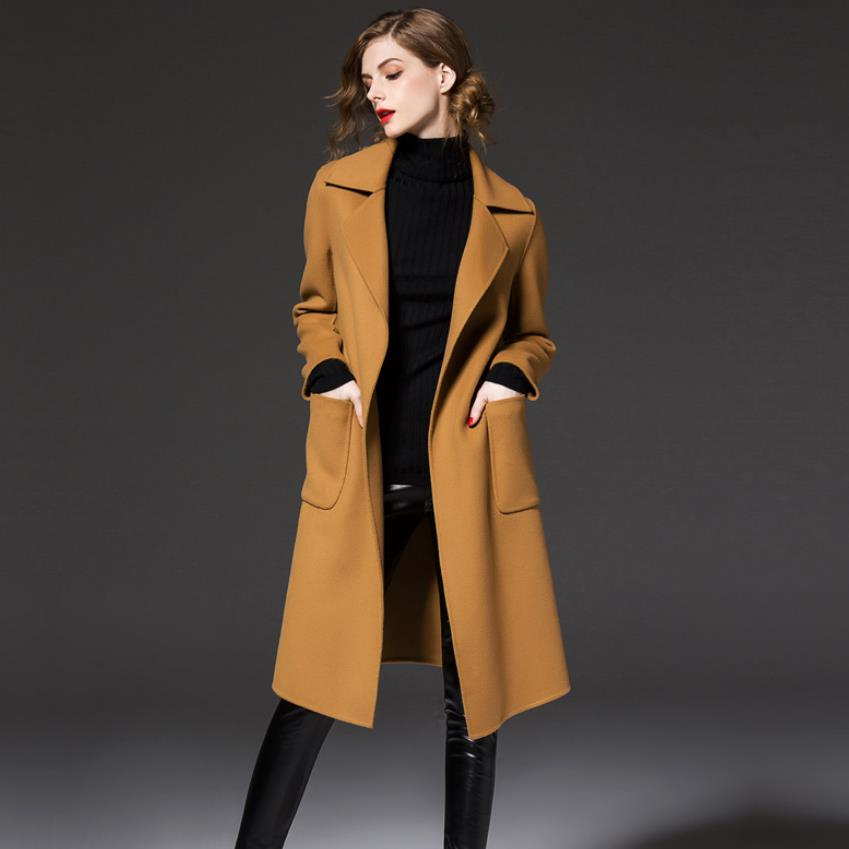 Popular Trench Coat for Women Camel-Buy Cheap Trench Coat for