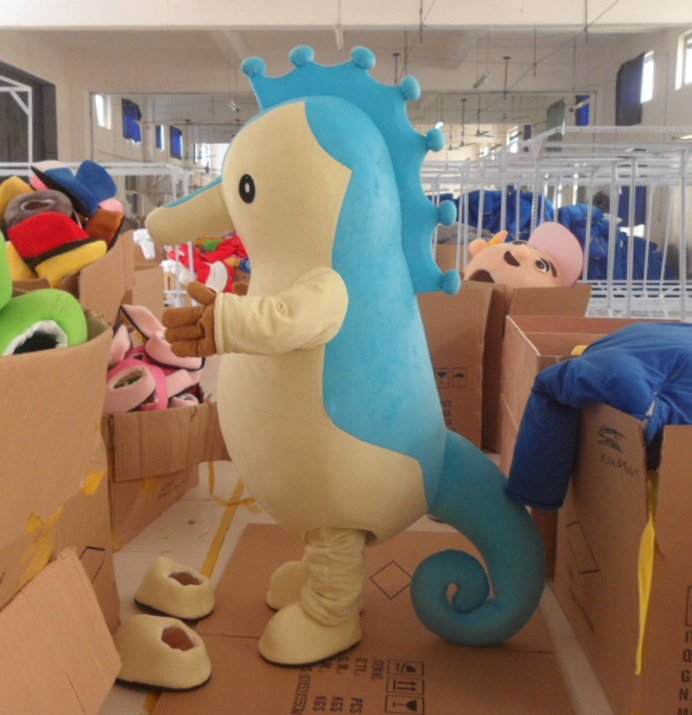Wholesale FREE SHIPPING blue dinosaur  Plush Cartoon Character Costume mascot cosplay Custom Products customized<br><br>Aliexpress