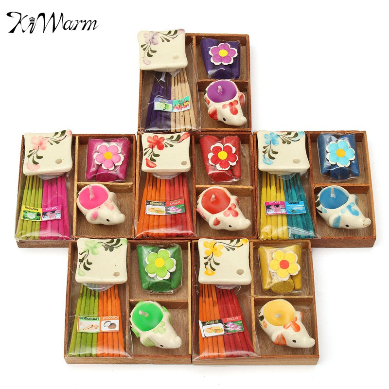 1 Set Thailand Incense Gift Box Aromatize Line Incense Tower Incense Animal Candle Dish Tray Indoor Home Living Room Decor(China (Mainland))
