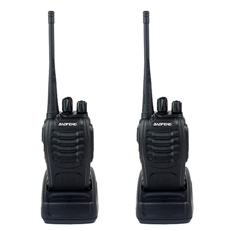 2pcs Baofeng BF-888S Walkie Talkie Transceiver UHF Intercom Two Way Radio Handheld cb Radio BF Baofeng 888s Walkie Talkie(China (Mainland))
