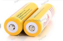 10 Pcs/lot 18650 battery Ultrafire 3.7V 5000mAh Li-ion Rechargeable Battery for T6 Flashlight batteries