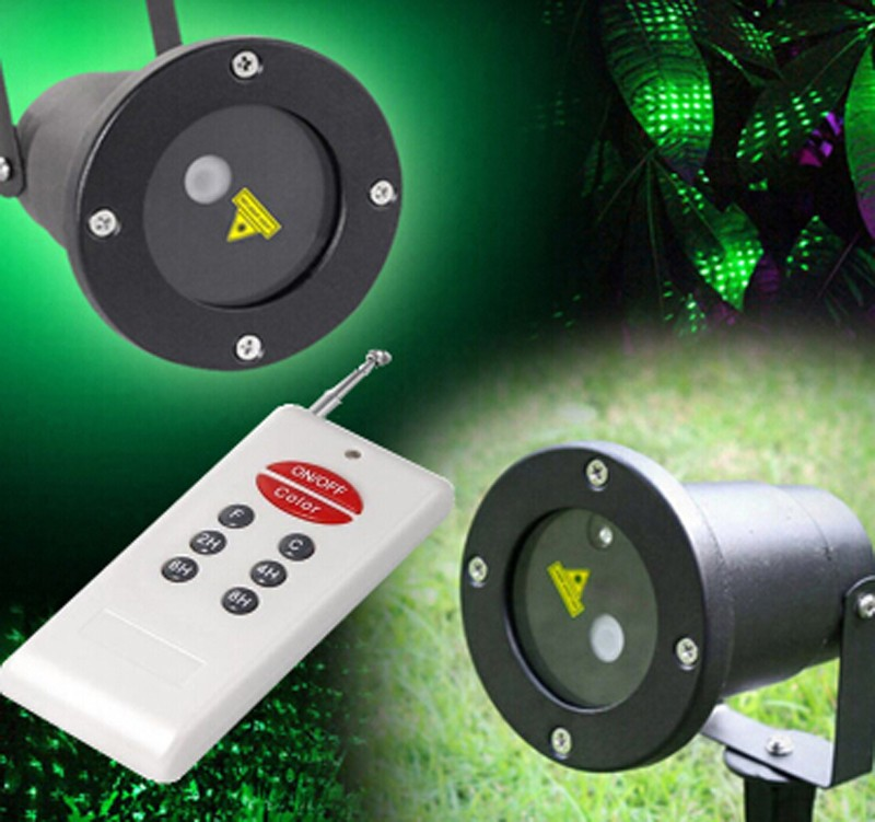 Remote Controller GR Laser Project Outdoor Holiday Waterproof Laser Lighting projector Show Landscape Light party Tree Garden(China (Mainland))