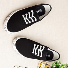 New Brand Designer Fashion Letter Print Women Low Top Sneakers Comfortable Woman Canvans Shoes Casual Shoes