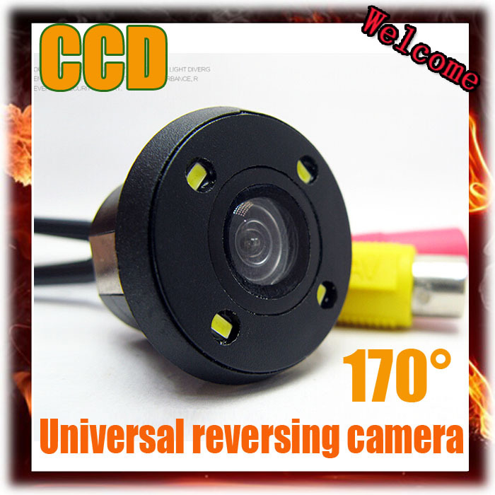 2015 Newest CCD HD night vision reversing car camera car rear view camera punching for Parking Assist 20MM Parking Camera(China (Mainland))