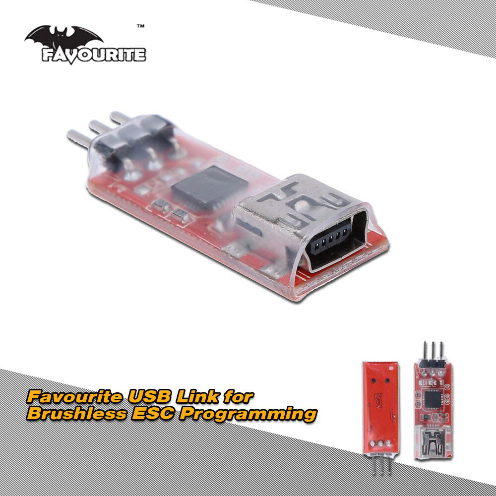 Favourite USB Link Software for Brushless Car Helicopter ESC Program Setting and Software Updates with Computer(China (Mainland))
