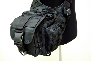 MOLLE Shoulder Bag Black SG-01-BK
