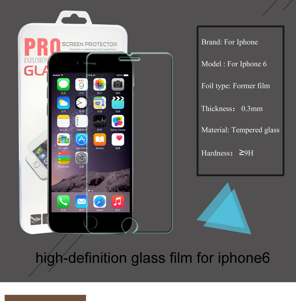 High Quality Real Tempered Glass font b Screen b font font b Protector b font for