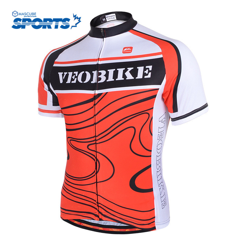 High Quality Quick-Drying Sun Protection Ride Tops Fitness Bicycle Bike Clothes Breathable Wicking Sportswear Cycling Jersey(China (Mainland))